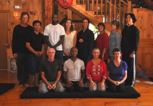 Group from a one-day sesshin in 2011. Photo courtesy of Chris Triplett.